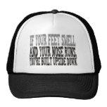 Funny saying mesh hats