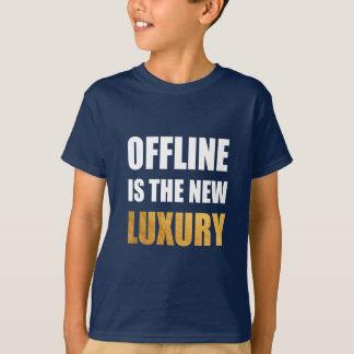 Funny Saying Nerd Humor. Internet Geek. Offline T-Shirt