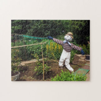 Funny scarecrow jigsaw puzzle