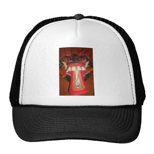 Funny Scary Weird Tongue  Asian Halloween Amazing  Trucker Hat