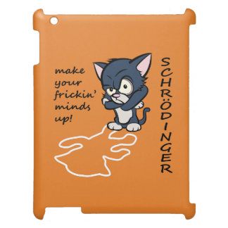 Funny Schrodinger's Cat Cover For The iPad