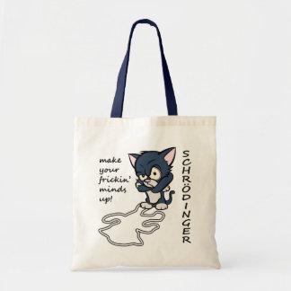 Funny Schrodinger's Cat Tote Bag