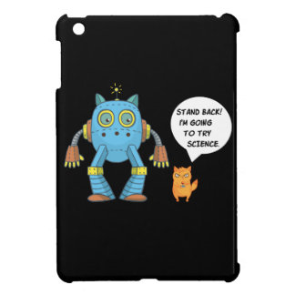 Funny Science And Engineering Feline Kitten Case For The iPad Mini