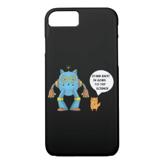 Funny Science And Engineering Feline Kitten iPhone 8/7 Case