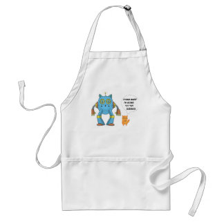Funny Science And Engineering Feline Kitten Standard Apron
