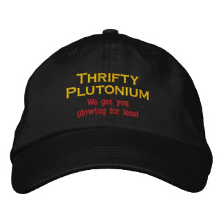 Funny Science Nuclear Plutonium hat atomic Humor