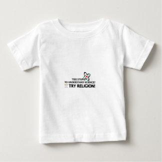 Funny Science VS Religion Baby T-Shirt