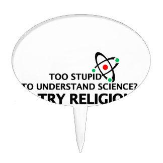 Funny Science VS Religion Cake Picks