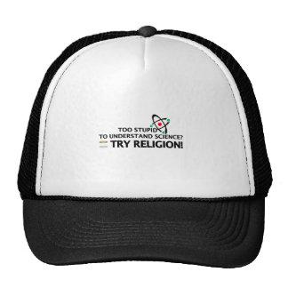 Funny Science VS Religion Cap