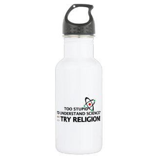 Funny Science VS Religion 532 Ml Water Bottle