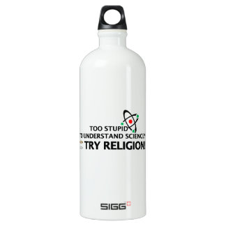Funny Science VS Religion SIGG Traveler 1.0L Water Bottle