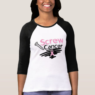 Funny Screw Breast Cancer T-Shirt