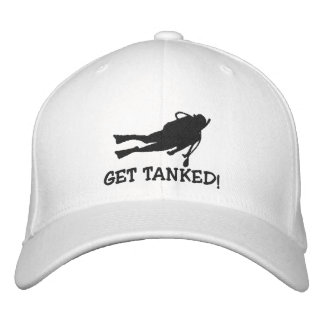 Funny SCUBA Dive Embroidered Cap