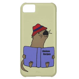 Funny Sea otter Reading Abalone Recipe Book iPhone 5C Case