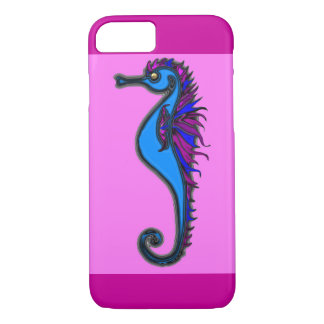 Funny seahorse pink iPhone 7 case