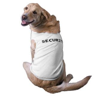 Funny Security Dog Shirt