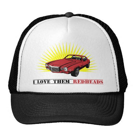 Funny Seventies Muscle Car Trucker Hats