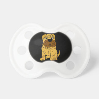 Funny Shar Pei Puppy Dog Original Art Dummy