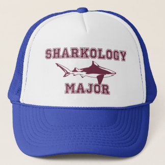 Funny Shark Major Trucker Hat