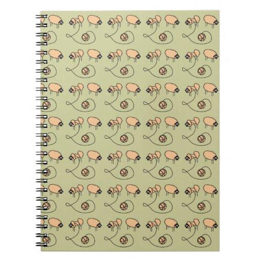 Funny Sheep custom Notebook