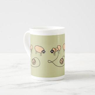 Funny Sheep custom Tea Cup