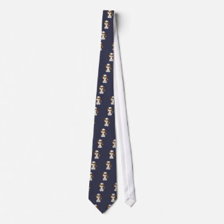 Funny Shih Tzu Puppy Dog Cartoon Tie
