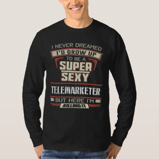 Funny Shirt For Telemarketer. Gift for Dad/Mom