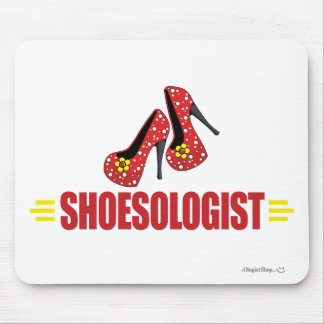 Funny Shoes Mouse Pad