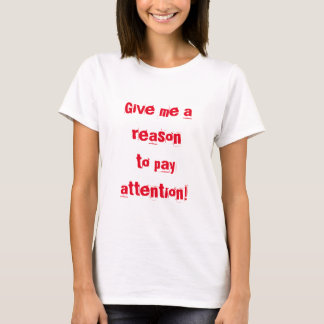 Funny Short Attention Span ADHD T-Shirt