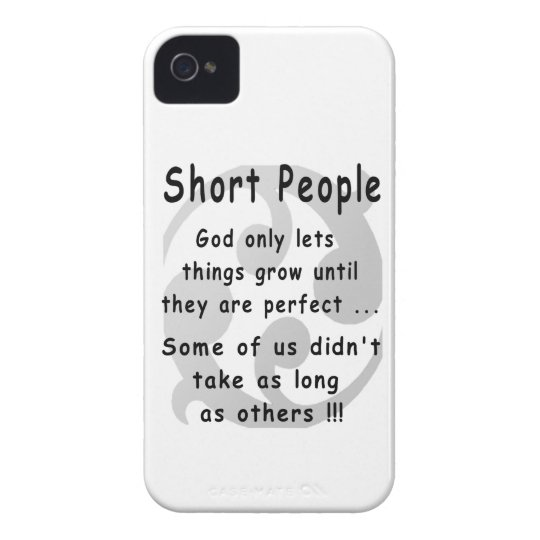 Funny Short People Revenge. iPhone 4 Case-Mate Cases