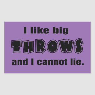 Funny Shot Put Discus Hammer Javelin Throw Sticker