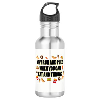 Funny Shot Put, Discus Thrower Water Bottle Gift