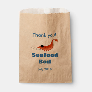 Funny Shrimp Favor Bag