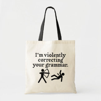 """Funny """"Silently Correcting Your Grammar"""" Spoof Bags"""