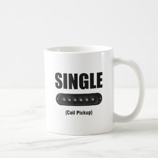 Funny Single Coil Pickup Guitar Coffee Mug