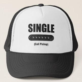 Funny Single Coil Pickup Guitar Trucker Hat