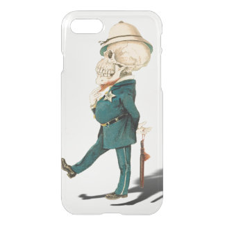 Funny Skeleton Bobby iPhone 7 Case