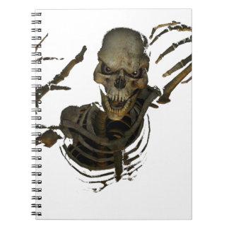 Funny Skeleton Notebook