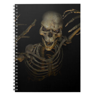 Funny Skeleton Spiral Notebooks