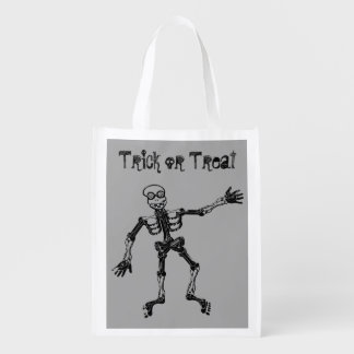Funny Skeleton Trick or Treat