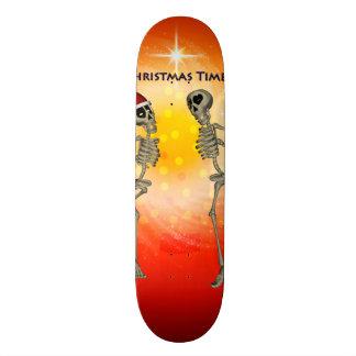 Funny skeletons custom skateboard