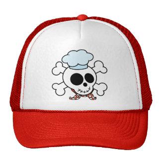 Funny Skull and Crossbones Chef Cap