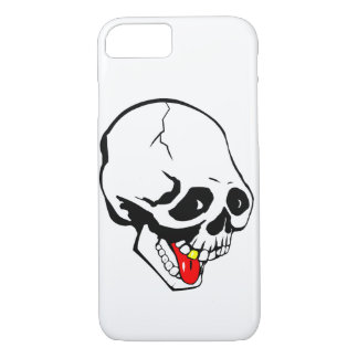 funny skull iPhone 8/7 case