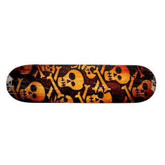 Funny Skull Skateboard