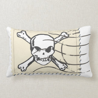 Funny Skull Stamp 5 Cushions