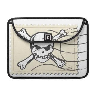 Funny Skull Stamp 5 Sleeve For MacBook Pro