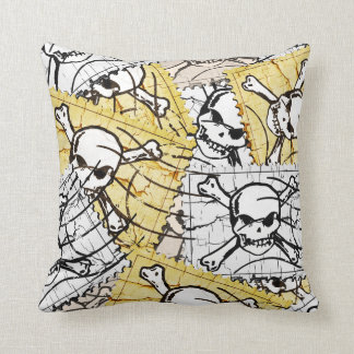 Funny Skull Stamp Cushions