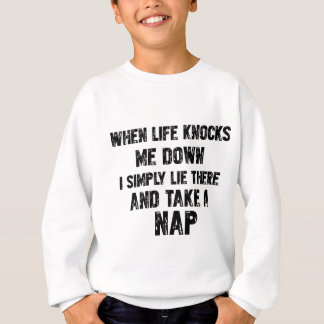 Funny Sleeping designs Sweatshirt