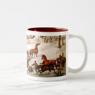 Funny Sleighing Mug