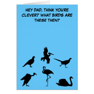 Funny,slightly rude Father's Day Card